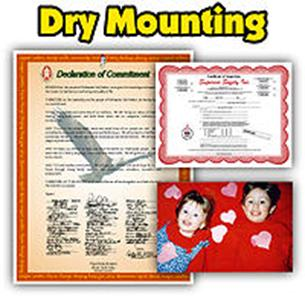 Dry Mounting