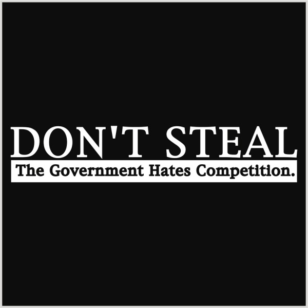 Don't steal-white