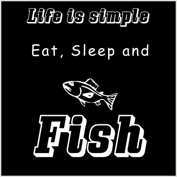 Life is simple-fish