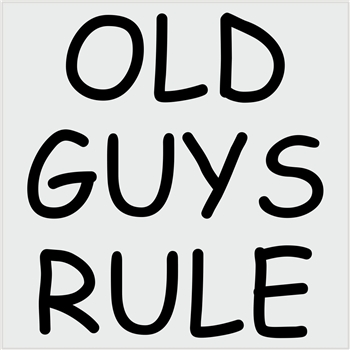 Old guys rule-black