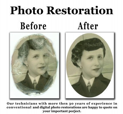 Restoration-Before and after