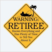 Warning retiree